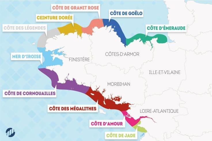 Des parcours, des lieux mythiques, des endroits cachés, une mine de renseignements pour partir à la découverte de la Bretagne